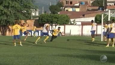 Jequié enfrenta o Vitória e tenta se manter no G4 do Baianão 2018 - A partida será transmitida pela TV Bahia, neste domingo (25).