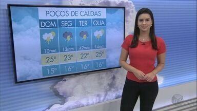 Confira a previsão do tempo para este domingo (25) no Sul de Minas - Confira a previsão do tempo para este domingo (25) no Sul de Minas