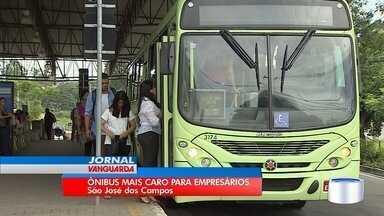 São José vai reajustar tarifa de ônibus para empresas que compram vale-transporte - Medida passa a valer no dia 5 de março.