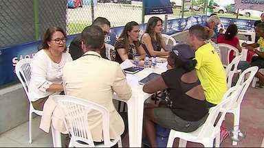 Primeiro 'AB Cidadania' do ano é realizado neste sábado (24) - Evento ocorreu no bairro das Rendeiras.