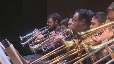 Banda Sinfônica se apresenta no Teatro Amazonas - Banda foi formanda há 2 anos