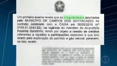 Caixa Econômica recorre decisão de empréstimo feito pela antiga gestão de Campos, no RJ - Empréstimo foi feito para quitar outras duas dívidas. Ação está sendo investigada pelo Ministério Público Federal.