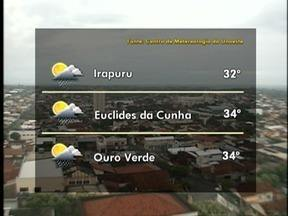 Confira a previsão do tempo para o Oeste Paulista - Veja como ficam as temperaturas em algumas cidades.