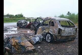 Deve sair em 15 dias a identificação dos corpos carbonizados em acidente na Transamazônica - Deve sair em 15 dias a identificação dos corpos carbonizados em acidente na Transamazônica