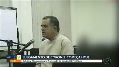 Coronel acusado de desviar R$ 7 milhões dos cofres públicos é julgado em SP - O coronel José Afonso Adriano Filho é acusado de desviar R$ 7 milhões dos cofres públicos, entre 2009 e 2012, quando era responsável pelas compras e contratação de serviços para o comando da Polícia Militar,