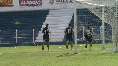 CSA se reapresenta e começa preparação para o clássico contra o CRB - Time azulino está na liderança do Campeonato Alagoano