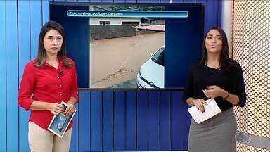 Pancada forte de chuva alaga Vassouras, RJ - Defesa Civil está nas ruas atendendo a população. Teve deslizamento, árvore caída, casas alagadas e carros arrastados.