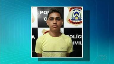 Dois suspeitos de matarem jovem no ano passado são presos em Araguaína - Dois suspeitos de matarem jovem no ano passado são presos em Araguaína