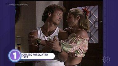 Marcello Novaes relembra seus pares românticos mais marcantes - Ator elege os tipos de amor mais interessantes que já viveu na telinha