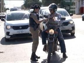 Polícia Militar realiza Operação Impacto em Montes Claros - Ação foi realizada nesta quarta-feira.