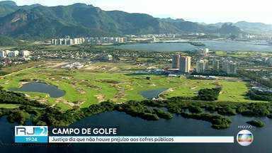 Justiça nega ação contra o ex-prefeito Eduardo Paes sobre o campo de golfe olímpico - Justiça diz que não houve prejuízo aos cofres públicos.