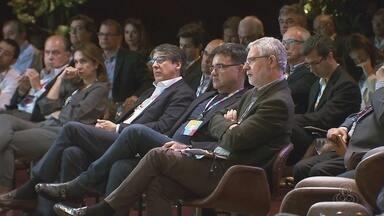 Executivos da Rede Globo debatem comunicação no Brasil - Reunião ocorreu nesta quarta-feira (28), em São Paulo.