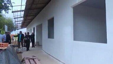 Justiça Federal realiza vistorias em unidades de saúde de Macapá - Obras em andamento também foram vistoriadas nesta quarta-feira (28).
