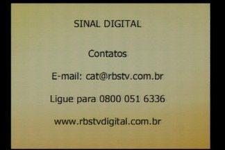 Sinal digital da RBS TV está disponível para Santa Rosa e Santo Ângelo - Faça a conversão e assista a programação com alta qualidade.