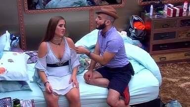 Mahmoud fala sobre voto em Diego: 'Não vou votar nele, pois prometi' - Mahmoud fala sobre voto em Diego: 'Não vou votar nele, pois prometi'