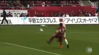 Piauiense Crislan se destaca mais uma vez e faz mais um gol no Japão - Piauiense Crislan se destaca mais uma vez e faz mais um gol no Japão