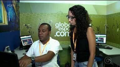 Equipe do Globo Esporte.com de Petrolina vai fazer cobertura da Copa TV Grande Rio - Equipe fica de olho em todos os lances das partidas.