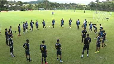 Reforçado, Londrina quer agregar caras novas no jogo contra o Prudentópolis - Reforçado, Londrina quer agregar caras novas no jogo contra o Prudentópolis