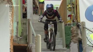 Descida das Escadas de Santos acontece neste domingo (4) - Competição ocupará a escadaria do Morro do Pacheco, e reunirá vários pilotos habilidosos.