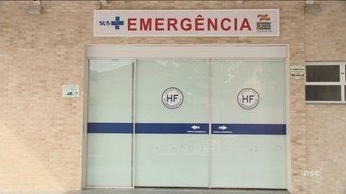 Pacientes questionam demora para atendimentos no Hospital Florianópolis - Pacientes questionam demora para atendimentos no Hospital Florianópolis