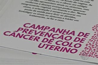 Universitários de Mogi realizam campanha de prevenção ao cancer do colo do útero - Neste sábado, mulheres puderam fazer exame de papanicolau gratuito.