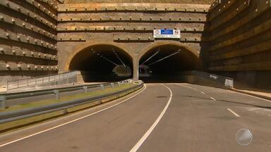 Complexo rodoviário 'linha azul' é entregue neste sábado (3) em Salvador - O túnel é uma das opções para melhorar o trânsito na capital.