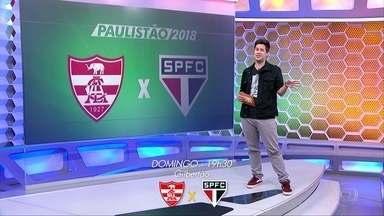 São Paulo volta confiante pro campeonato paulista - São Paulo volta confiante pro campeonato paulista