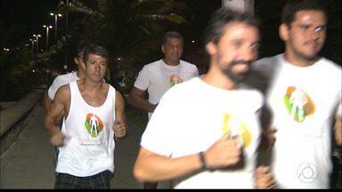 Atletas se preparam para a Corrida Contra a Corrupção em João Pessoa - Prova vai ser realizada no próximo dia 18.