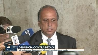 MP pede que Pezão perca o cargo por falta de investimento na saúde - O governo do Rio declarou que a procuradoria-geral do estado recorreu no STF.