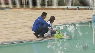 Após crianças passarem mal em piscina, Saúde analisa água e comida em Poços de Caldas (MG) - Após crianças passarem mal em piscina, Saúde analisa água e comida em Poços de Caldas (MG)