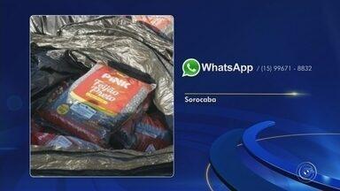 Morador encontra 100 kg de feijão preto em conteiner de lixo na frente de escola - 100 quilos de feijão preto são encontrados descartado em frente a escola de Sorocaba