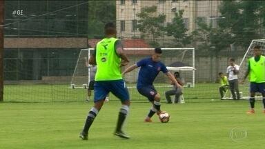 Vasco mantém esquema de três zagueiros contra o Madureira pelo Campeonato Carioca - Esquema é utilizado por Zé Ricardo na Taça Libertadores.