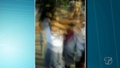 Vídeos mostram brigas entre estudantes fardados na orla de Santarém - Registros foram compartilhados nas redes sociais. PM diz que faz rondas para evitar situações como estas.