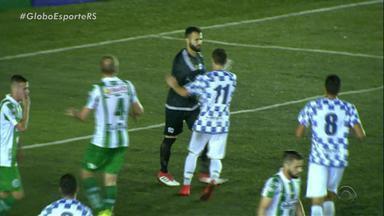 São José e Juventude se enfrentam e resultado fecha no 2x1 para o time da serra - Assista ao vídeo.