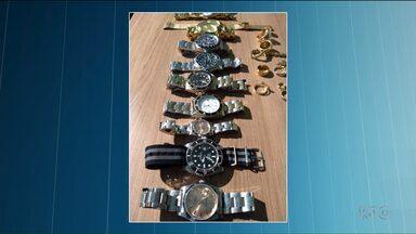 Polícia Civil prende quadrilha especializada no roubo de relógios de luxo - A operação resultou na prisão de nove pessoas.