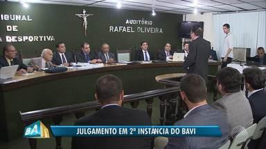 STJD julga em segunda instância as confusões do primeiro BA-VI do ano, no Barradão - No último dia 2 os times solicitaram efeito suspensivo para os jogadores envolvidos na briga que marcou o clássico.