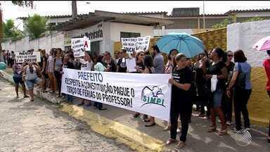 Professores da rede municipal de Itabuna suspendem aulas por atraso de pagamento de férias - Categoria não aceitou a proposta de parcelamento do terço de férias referente ao ano passado.