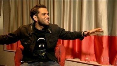 Esporte Espetacular apresenta entrevista exclusiva com Daniel Alves - Lateral fala de Seleção e sobre a eliminação do Partis Saint-Germain para o Real Madrid