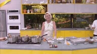Mais Você - Programa de sexta-feira, 16/03/2018, na íntegra - Ana Maria Braga recebe os atores Carmo Dalla Vecchia e Luellem de Castro na Casa de Cristal. A apresentadora prepara um salgadinho diferente e delicioso: kibichinha!