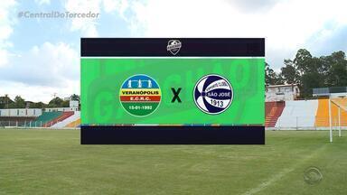 Veranópolis, com a melhor defesa do Gauchão, enfrenta o São José pelas quartas de final - Assista ao vídeo.