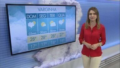 Confira a previsão do tempo para este domingo (18) no Sul de Minas - Confira a previsão do tempo para este domingo (18) no Sul de Minas