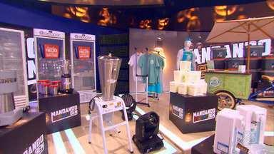 Vendedor de geladinhos de Salvador é destaque no programa 'Caldeirão do Huck' - O baiano foi contemplado por diversos equipamentos para a produção de seus produtos.