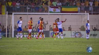 Bahia enfrenta o Juazeirense pela semifinal do Baianão 2018 - Confira os melhores momentos do primeiro tempo da partida.