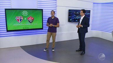 Vitória enfrenta o Bahia de Feira nesse domingo (18), pela semifinal do Baianão - A partida acontece no estádio Alberto Oliveira, em Feira de Santana.