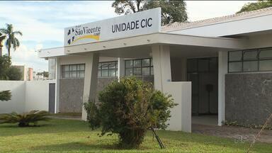 Hospital São Vicente, na Cidade Industrial, é reaberto - Hospital estava fechado desde 2015. Agora vai funcionar com 25 novos leitos do SUS para atender a rede de urgência de Curitiba.