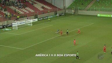 Boa Esporte perde para o América-MG e é eliminado do Campeonato Mineiro - Boa Esporte perde para o América-MG e é eliminado do Campeonato Mineiro