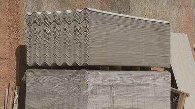 Pesquisadores da Ufla desenvolvem telhas de eucalipto para substituir produtos com amianto - Pesquisadores da Ufla desenvolvem telhas de eucalipto para substituir produtos com amianto