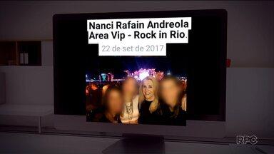 Vereadora de Foz é investigada por ir ao Rock In Rio um dia depois de apresentar atestado - Um dia antes de ir para o Rio de Janeiro, ela ficou afastada do trabalho com um atestado médico. Moradores pediram investigação ao Ministério Público e a Câmara.