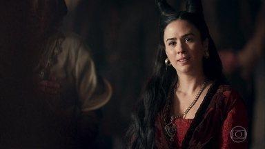 Lucrécia diz a Rodolfo que entrará para um convento - Ela conta que recebeu um sinal dos céus e descobriu sua verdadeira vocação