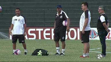 Central se prepara para partida contra o Sport - Jogo vai acontecer na quarta-feira (21) em Caruaru.